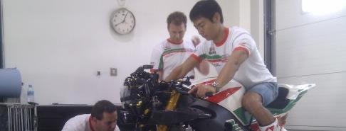 青山博一:スーパーバイク活動開始