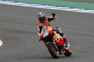 ペドロサ『もっと早くミスしてくれたら…』、ロレンソ『最多勝おめでとう』:2012年ヴァレンシアGP