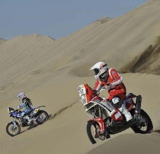 ダカール・ラリー2013:第3ステージ・リザルト、Pisco - Nazca、+選手コメント