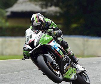 #91 Leon Haslam JG Speedfit Kawasaki MCE Insurance British Superbike Championship in association with Pirelli
