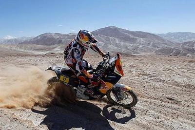 ダカール・ラリー2013:第6ステージ・リザルト、Arica – Calama、+選手コメント